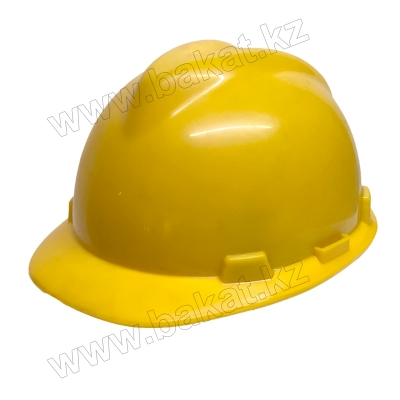 Каска желтая